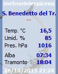 Meteorivierapicena - Stazione di San Benedetto del Tronto