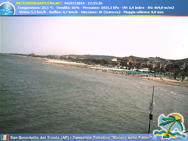 Webcam San Benedetto del Tronto